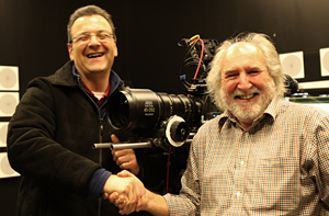 Rob and Charlie with Arri Alexa