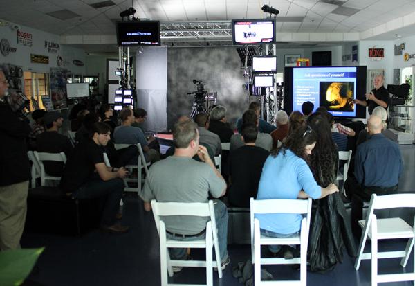 Rob Draper,ACS discusses Rembrandt during the demo.